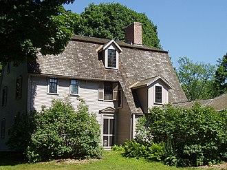 Concord, Massachusetts - The Old Manse, home to Ralph Waldo Emerson and later Nathaniel Hawthorne