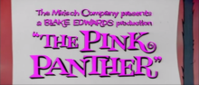 Description de l'image The Pink Panther trailer title card.png.