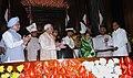 The President, Smt. Pratibha Devisingh Patil presenting the Outstanding Parliamentarian Award to the Union Finance Minister, Shri P. Chidambaram, in New Delhi on September 13, 2007.jpg