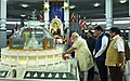 The Prime Minister, Shri Narendra Modi paying tributes at Deekshabhoomi, on the occasion of Ambedkar Jayanti, in Nagpur.jpg