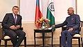 The Prime Minister of Czech Republic, Mr. Andrej Babis calling on the President, Shri Ram Nath Kovind, in Prague, Czech Republic on September 07, 2018 (1).JPG