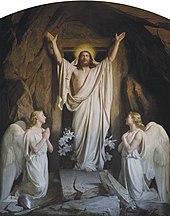 Картина Воскресения Христова Генриха Блоха