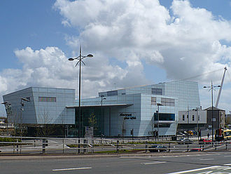 Riverfront Arts Centre - Riverfront Arts Centre (entrance)