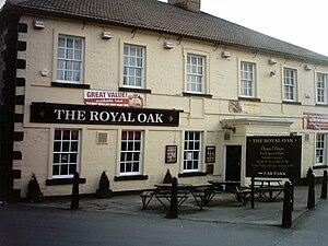 Kippax, West Yorkshire - Image: The Royal Oak at Kippax