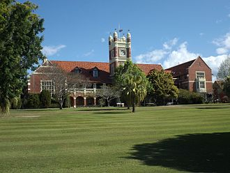 Southport, Queensland - The Southport School clock tower
