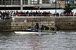 The TV boat during the Boat Race in spring 2013 (2).JPG