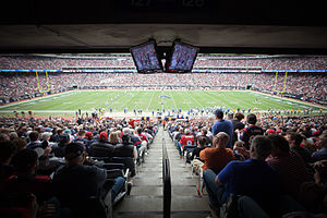 2013 Texas Bowl - The 2013 Texas Bowl was played at Reliant Stadium.