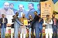 The Union Minister for Finance, Corporate Affairs and Information & Broadcasting, Shri Arun Jaitley presented the MGNREGA State Awards, at the MGNREGA SAMMELAN-2016, in New Delhi. The Union Minister for Rural Development (2).jpg