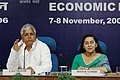 The Union Minister for Railways Shri Lalu Prasad addressing the Economic Editors' Conference - 2006, organised by the Press Information Bureau, in New Delhi on November 08, 2006.jpg
