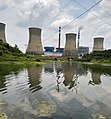 The coal-fired power plant in Gantang town, which is subordinate to Qianxi county.jpg