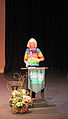 """The colourful and talented Jane Smiley, speaking on her most recent novel, """"Some Luck."""" (15654225655).jpg"""