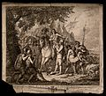 The death of Sir Philip Sidney at the battle of Zutphen. Etc Wellcome V0015285.jpg