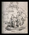 The evolution of a pig into a bull into an imposing man, and Wellcome V0011241.jpg