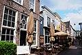 The famous restaurant street (Korte Putstraat) of Den Bosch, with only restaurants with terraces - panoramio.jpg