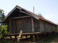 The house on stilts of Ede people in a central highland.JPG