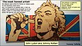 The most honest artist ever, Johnny Rotten aka John Lydon, in a work of art by Tommy Tallstig.jpg