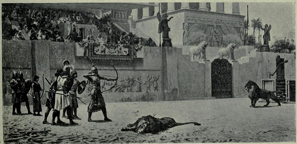 The part time of Assyrian King by F.A. Bridgman