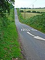 The switchback road between Scotch Hill and Newchurch - geograph.org.uk - 198887.jpg