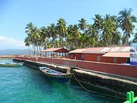 The view of Ross Island from Speed Boat.jpg