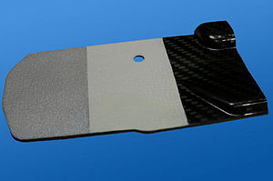 Thermal barrier coating - Thermal barrier coating applied onto carbon composite