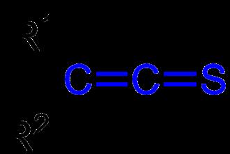 Thioketene - The general structure of thioketenes