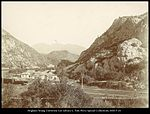 Thistle Station, Spanish Fork Canon. R.G.W.Ry. (Rio Grande Western Railway) C.R. Savage, Photo..jpg