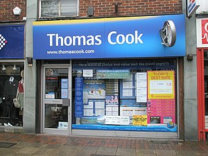 Travel agency - Thomas Cook travel agents in the UK