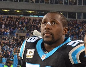 Thomas Davis Sr. - Davis playing for the Panthers in 2013.