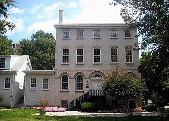 Southwest Waterfront - The Thomas Law House built in 1796