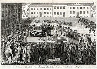Tumult of Thorn (Toruń) - Executions at Thorn (Toruń)