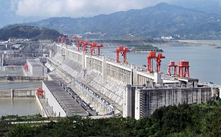 Three Gorges Dam Dam in Sandouping, Yiling District, Hubei