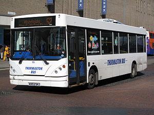 Caetano Nimbus - Thurmaston Bus Caetano Nimbus bodied Dennis Dart SLF in Leicester in April 2011