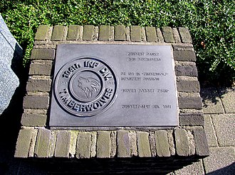 104th Infantry Division (United States) - Timberwolf World War II Liberation Memorial in Zundert, Netherlands.