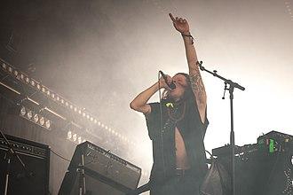 K-X-P - Timo Kaukolampi of K-X-P performing at Flow Festival in Helsinki, August 2015