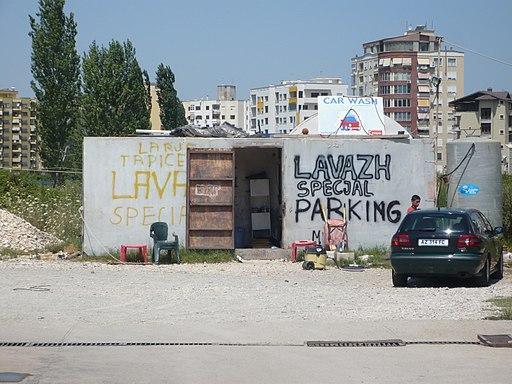 Tirana car wash