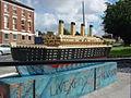 Titanic model, St James Place, Liverpool (3).JPG