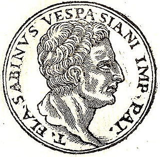 Titus Flavius Sabinus (father of Vespasian) father of Roman Emperor Vespasian