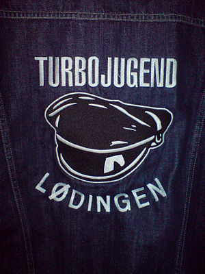"Turbojugend - The back of a ""kutte"""