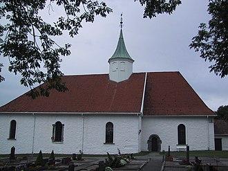 Tjølling - Tjølling Church at Larvik in Vestfold