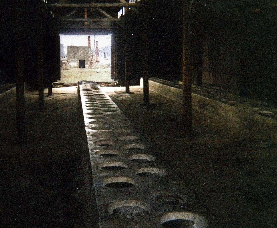 Toaletter på auschwitz 2