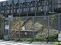 Tokaido Shinkansen maintenance workers stair - Shiroyama (Inbound line side).jpg