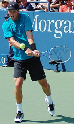 Tomáš Berdych at the 2009 US Open 01.jpg