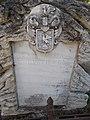 Tomb of Béla Bugarin-Horváth, CoA, 2018 Ráckeve.jpg