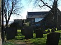 Tombstones and playhouse - geograph.org.uk - 1230455.jpg