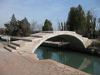 Torcello - Image: Torcello Ponte del diavolo