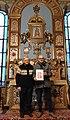 Torino, Chiesa grande della Piccola Casa della Divina Provvidenza,Reliquia di San Cesario diacono e martire.jpg