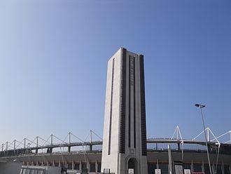 Stadio Olimpico Grande Torino - The Torre Maratona after the renovations