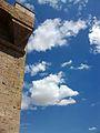 Torres de Quart i núvols.JPG