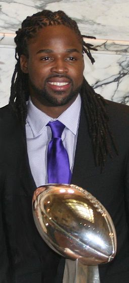 Torrey Smith and 2013 Superbowl trophy