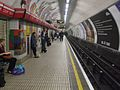 Tottenham Court Road stn eastbound Central look west.JPG